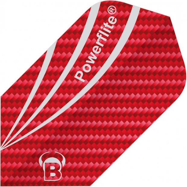 Bull's flights Powerflite Fibre Slim 100 micron rood