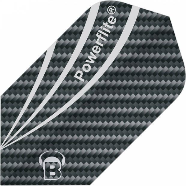 Bull's flights Powerflite Fibre Slim 100 micron grijs