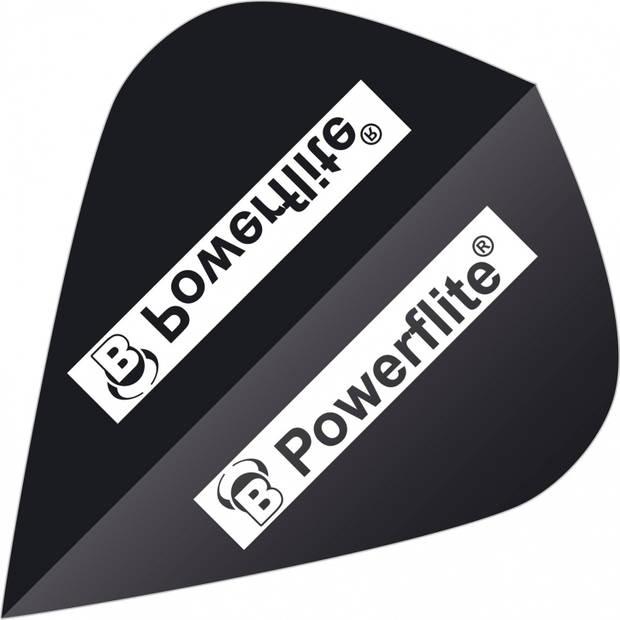 Bull's flights Powerflite Kite 100 micron zwart