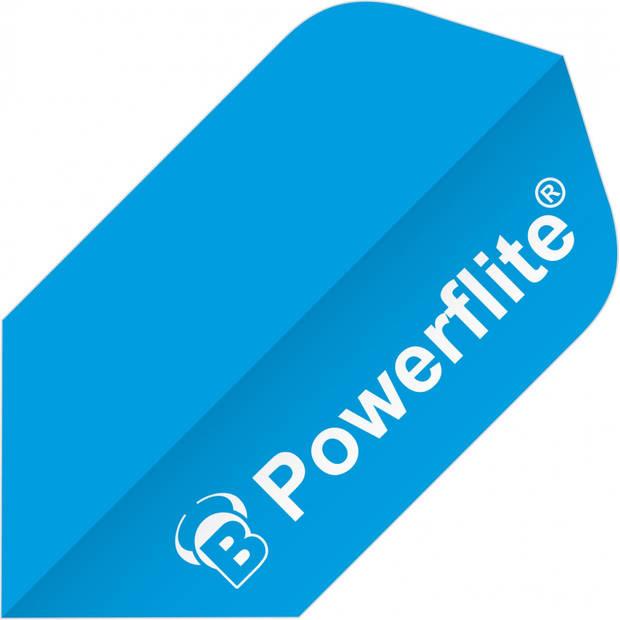 Bull's flights Powerflite Slim 100 micron blauw