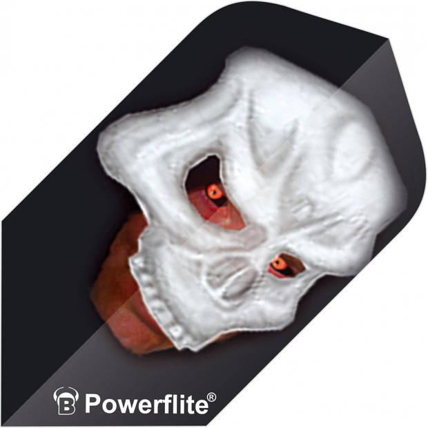Bull's flights Powerflite Skull Slim 100 micron zwart