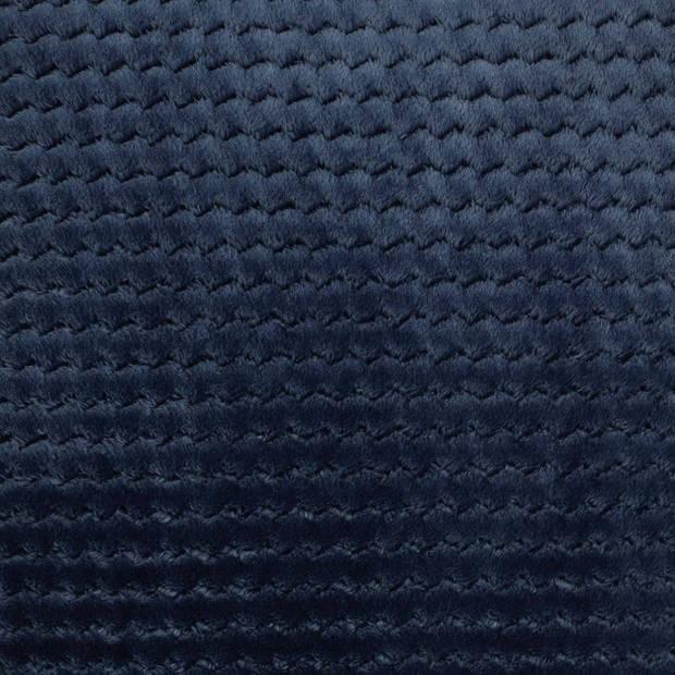 Dutch Decor Sierkussen Mara 45x45 cm blauw