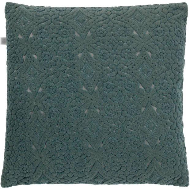 Dutch Decor Kussenhoes Babet 45x45 cm groen
