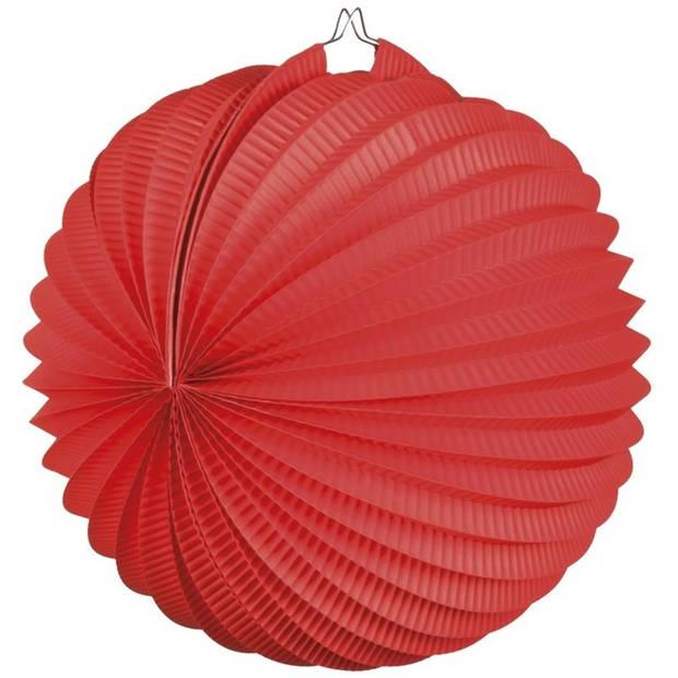 Lampion rood 22 cm