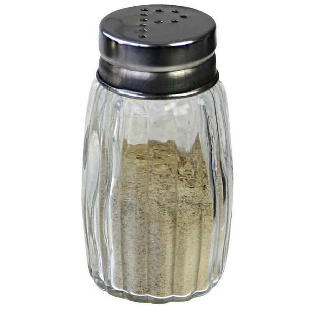 Peper en zout vaatje/stooier 7 cm - Pepervaatje/Zoutvaatje - Peper en zout setje