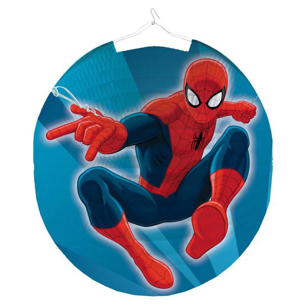 Amscan lampion Spider-Man 25 cm blauw