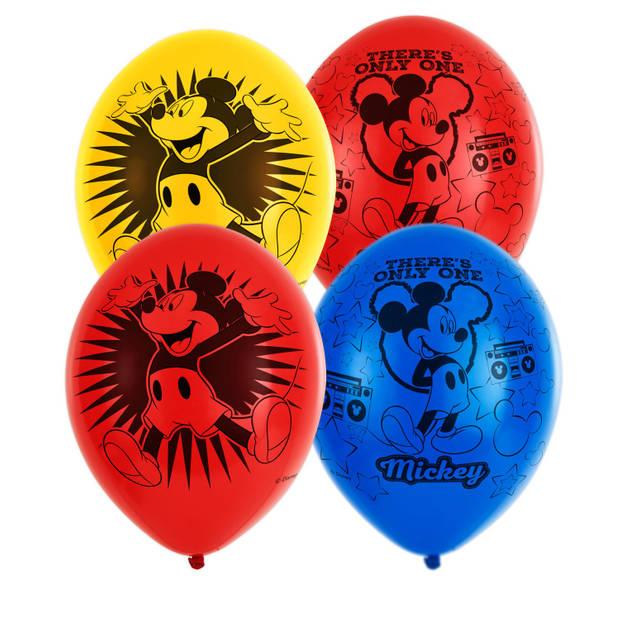 Amscan ballonnen Mickey Mouse 6 stuks