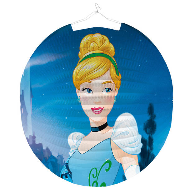 Amscan lampion Disney Princess 25 cm blauw