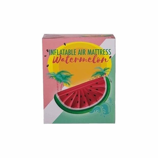 Opblaasbare watermeloen luchtbed 180 cm