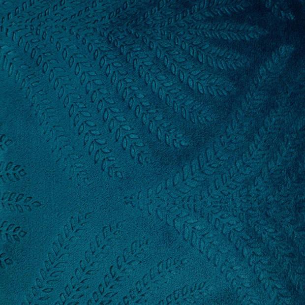 Dutch Decor Kussenhoes Liza 45x45 cm smaragd