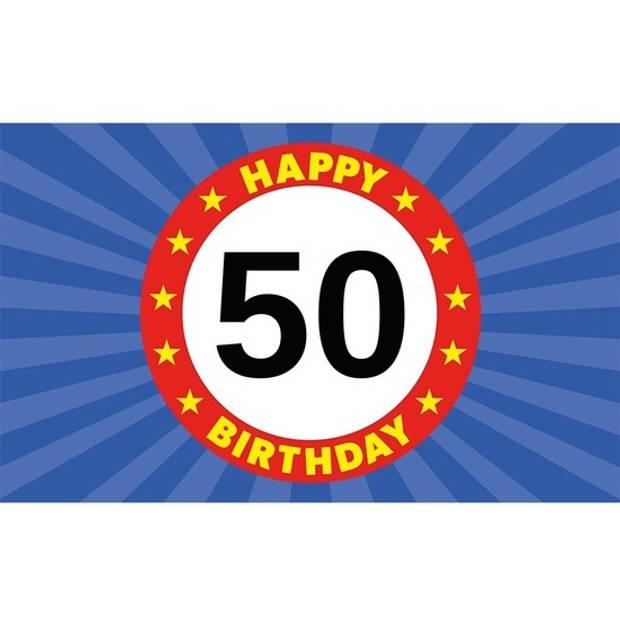 50 jaar feestpakket voor Sarah/Abraham