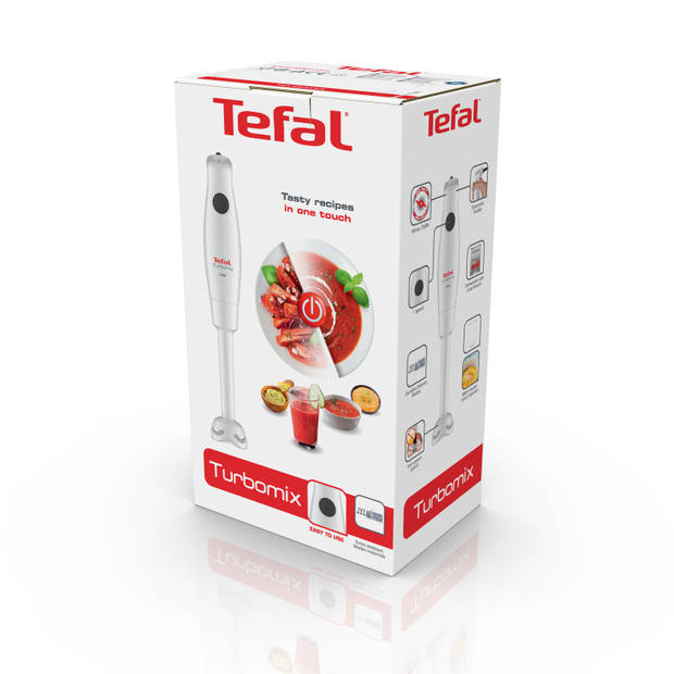 Tefal staafmixer Turbomix HB12A1 - wit