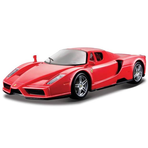 Bburago schaalmodel Ferrari Enzo 1:24 rood
