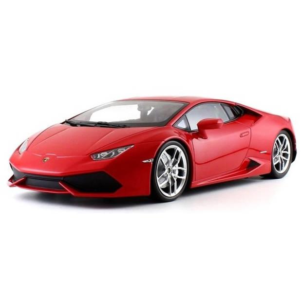 Modelauto Lamborghini Huracan 1:18 - speelgoed auto schaalmodel