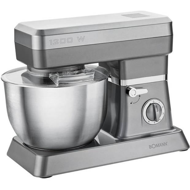 Bomann KM 398 CB - Keukenmachine - Titanium