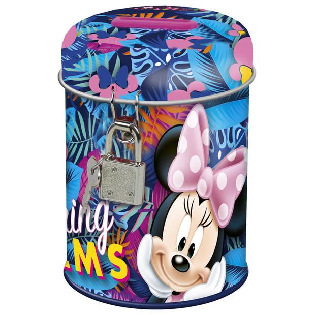 Disney Minnie Mouse Spring Palms - Spaarpot - 11.5 cm - Multi