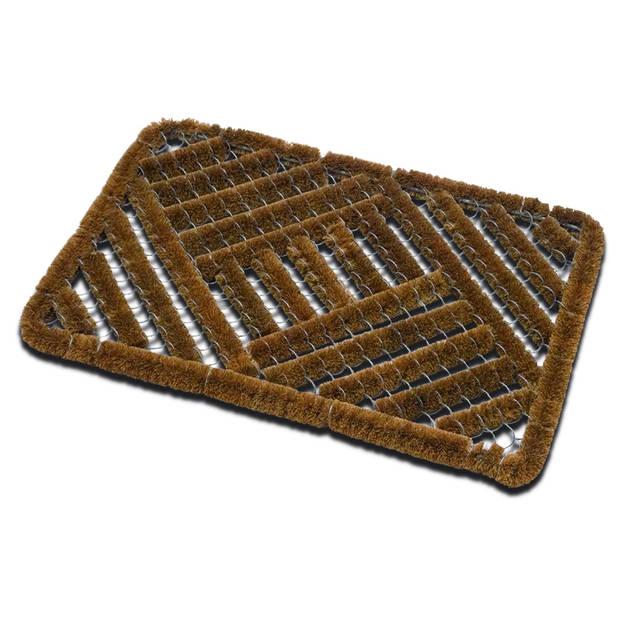 Deurmat borstel - 40x60 cm - schoonloopmat / borstelmat