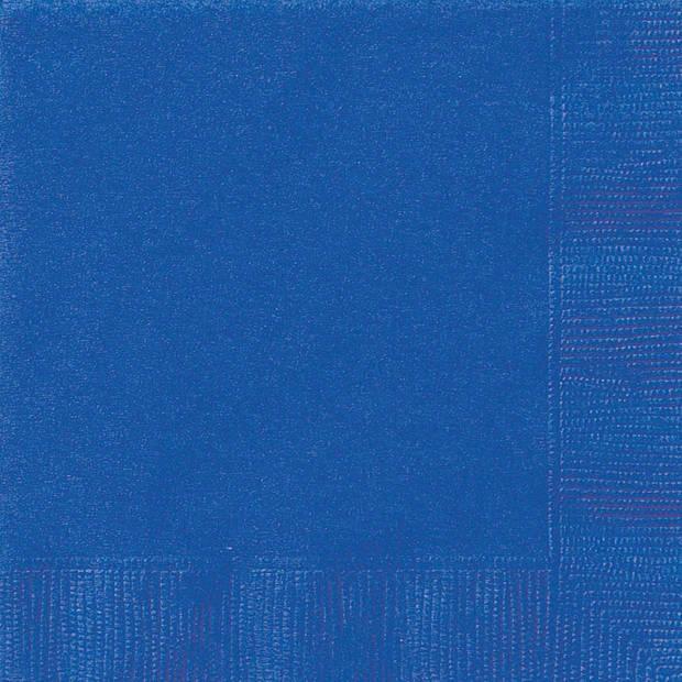 Haza Original servetten donkerblauw 17 x 17 cm 20 stuks