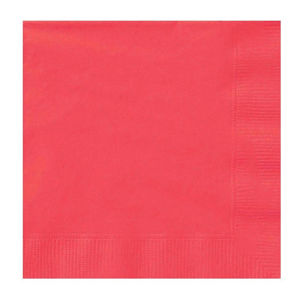 Haza Original servetten rood 17 x 17 cm 20 stuks