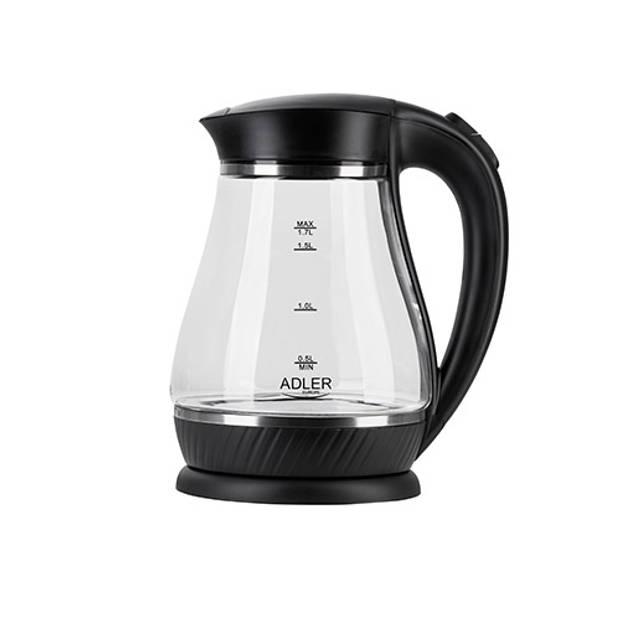 Adler AD1274b - Waterkoker - zwart - 1.7 liter