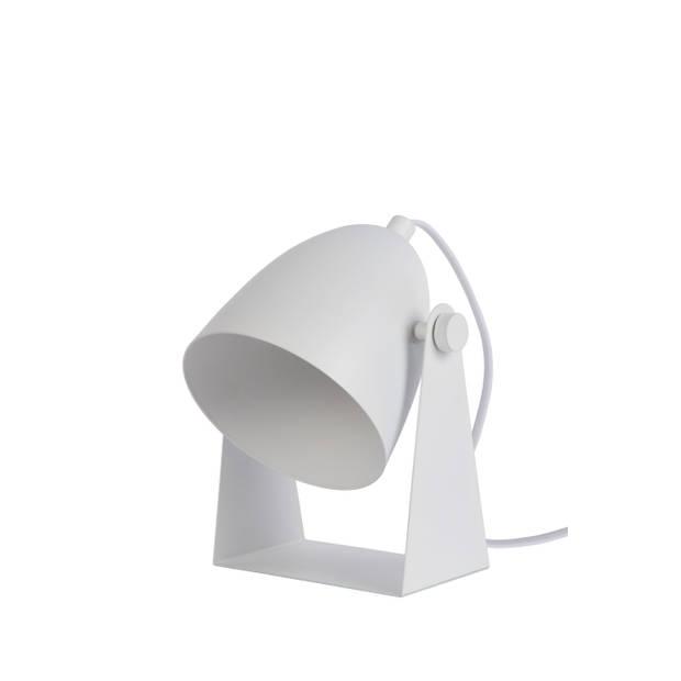 Lucide CHAGO Tafellamp E14 13/15/19cm Wit