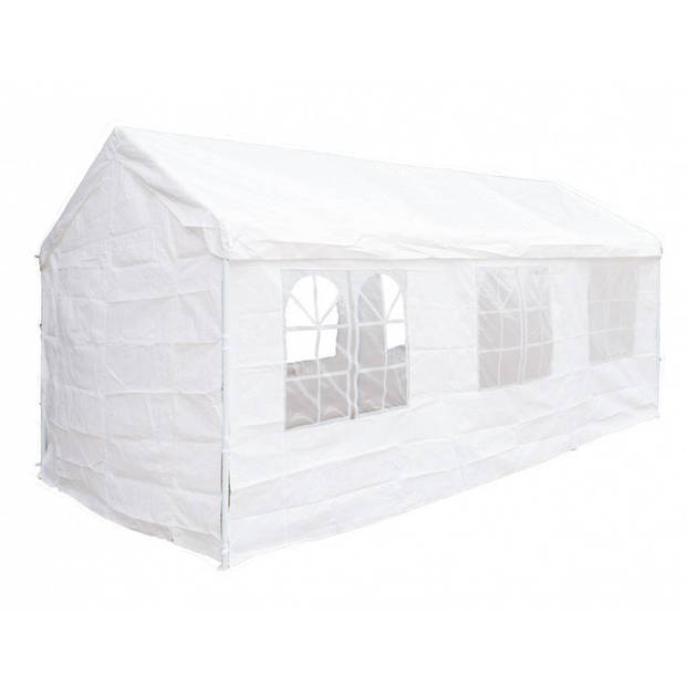 Garden Royal partytent 3x6m Wit luxe extra stevig