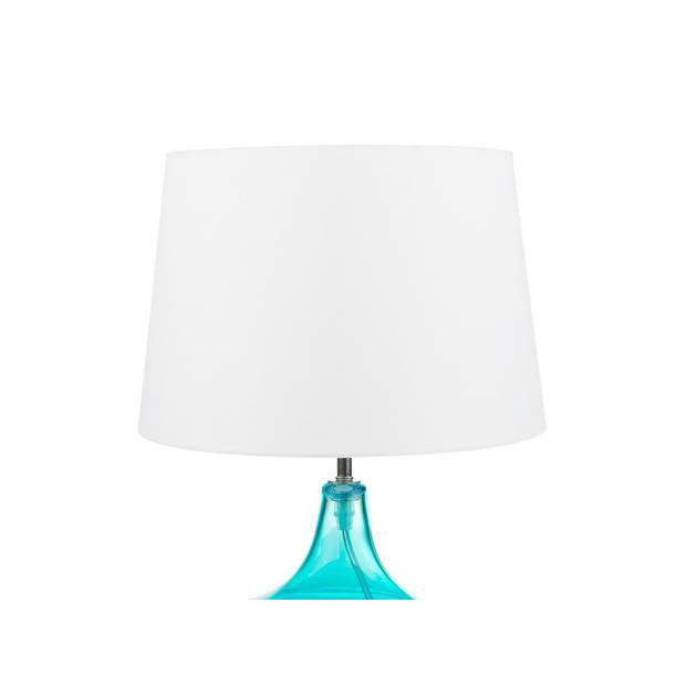 Beliani ERZEN Tafellamp Glas 20 x 29 cm