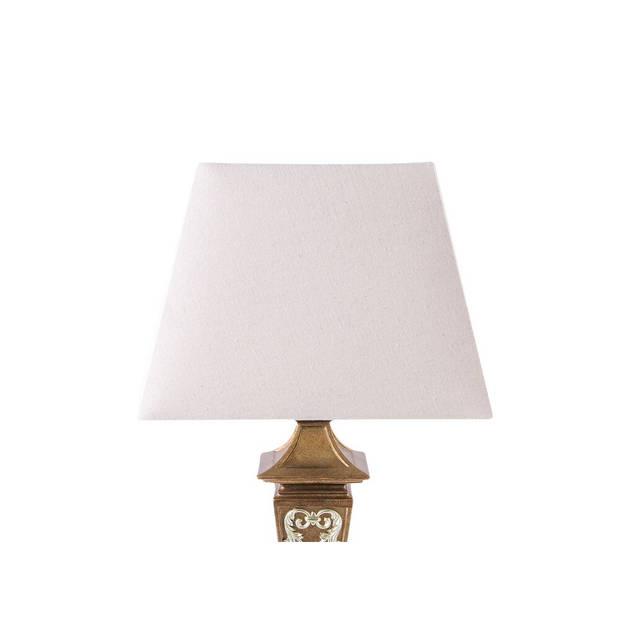Beliani BADDANA Tafellamp Synthetisch materiaal 38 x 38 cm