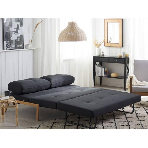 Beliani EDLAND Slaapbank Polyester 200 x 152 cm