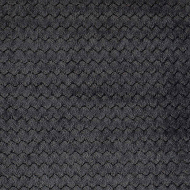 Dutch Decor Plaid Mara 150x200 cm Charcoal Gray