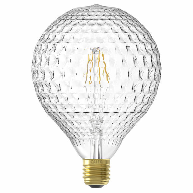 Calex LED-lamp E27 4W - Globelamp Ananas Helder licht dimbaar