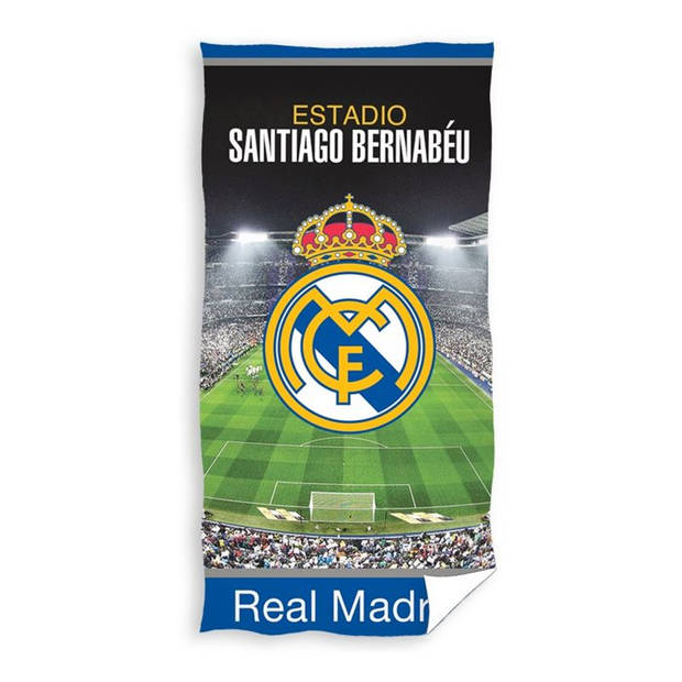Real Madrid C.F. strandlaken - 100% katoen - 70x140 cm - Multi