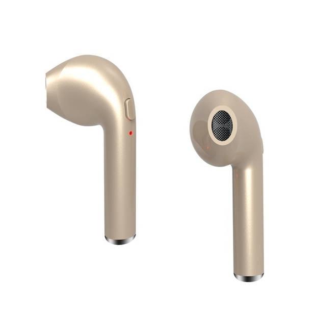 Draadloze Oordopjes – Bluetooth – Goud – 5 A 6 Uur Speeltijd