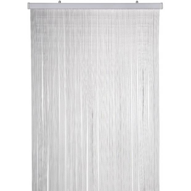 Vliegengordijn/deurgordijn transparante strips - 90 x 220 cm - Insectenwerende vliegengordijnen