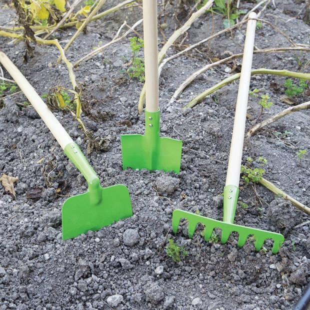 Bigjigs Long handled soil rake