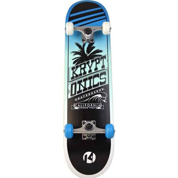 Kryptonics skateboard Cali Swell 79 x 19 cm blauw