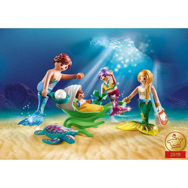PLAYMOBIL Magic meerminnenfamilie 70100