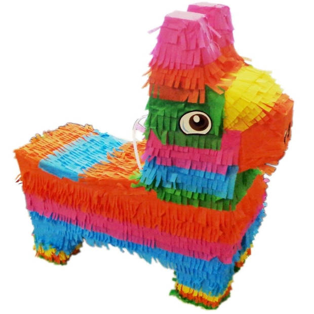TOM piñata lama 40 cm multicolor