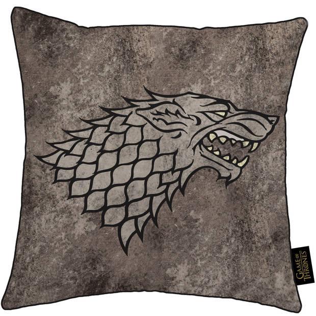 Game of Thrones Stark - Sierkussen - 40 x 40 cm - Multi