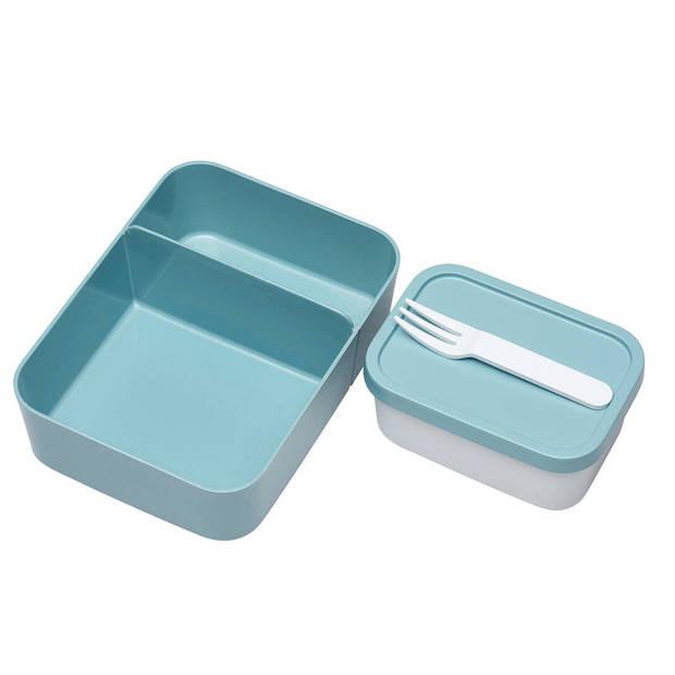 Mepal lunchbox Bento Large 17 x 25,5 x 6,5 cm groen