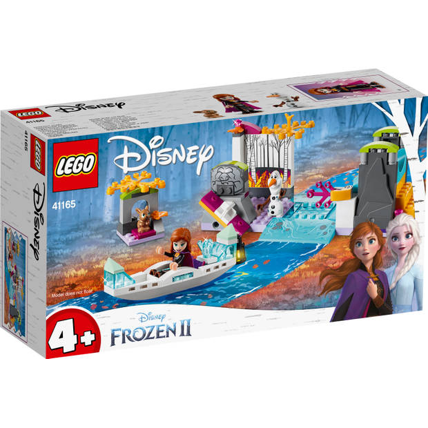 LEGO Disney Frozen 2 Anna's kano-expeditie 41165