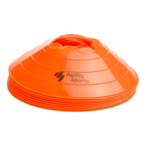 Agility Sports afbakenpionnen oranje 10 stuks