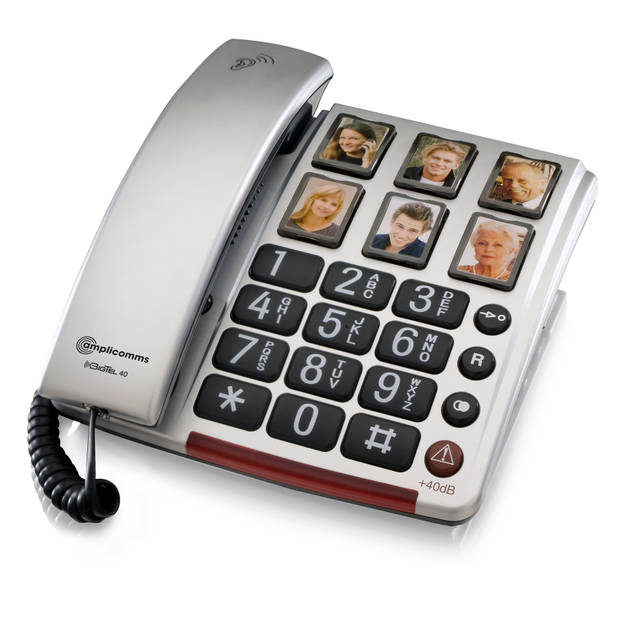 amplicomms senioren telefoon bigtel 40