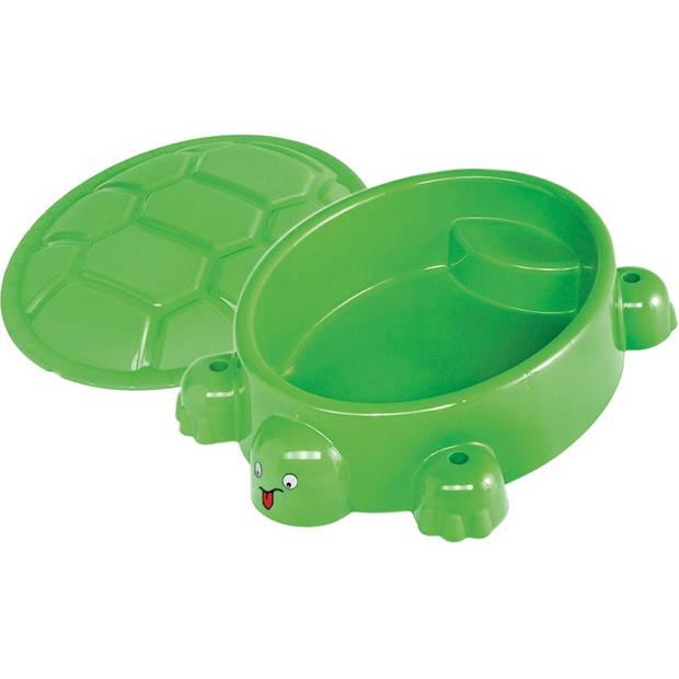 Paradiso Toys zandbak schildpad 95,5 x 68 cm groen