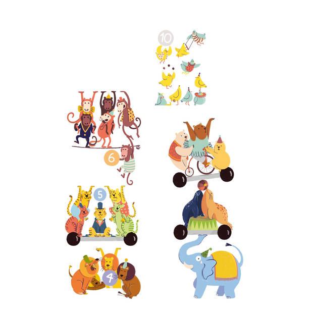 Clementoni Spelend Leren getallenspel multicolor