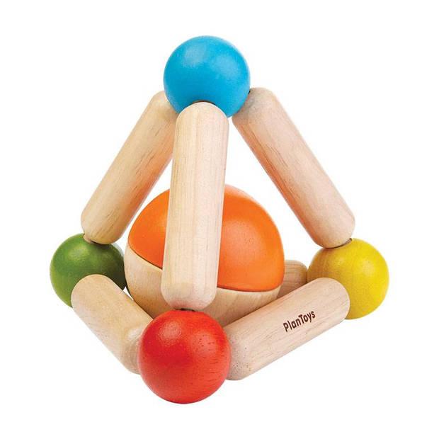 Plan Toys houten rammelaar Triangle Clutching Toy