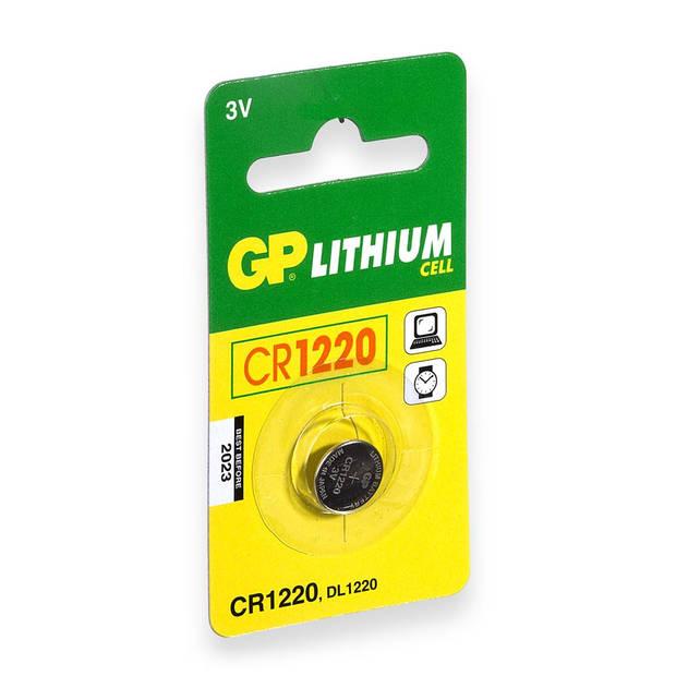 GP CR1220 Knoopcel Lithium Batterij