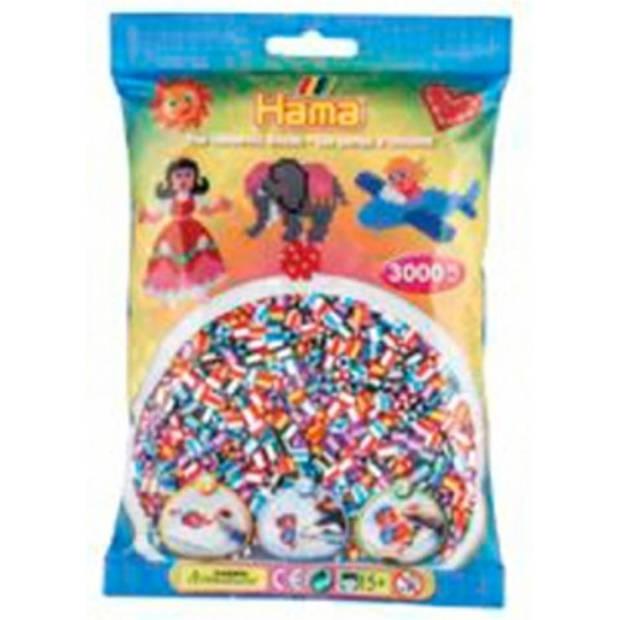 Strijkkralen Hama 3000 stuks 2 kleurig mix