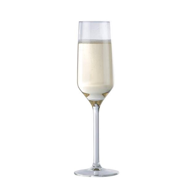 Alpina Champagne Glazen - Flûte - 220 Milliliter - 6 Stuks