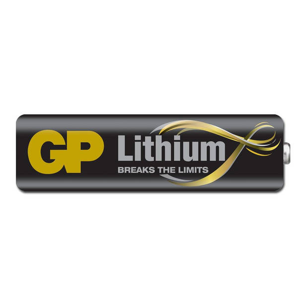 GP AA Lithium Batterij 4 Stuks